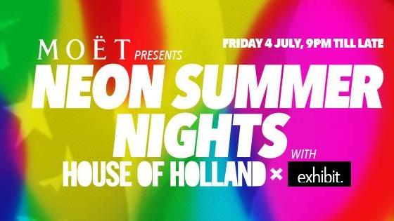 MOËT NEON Summer Nights