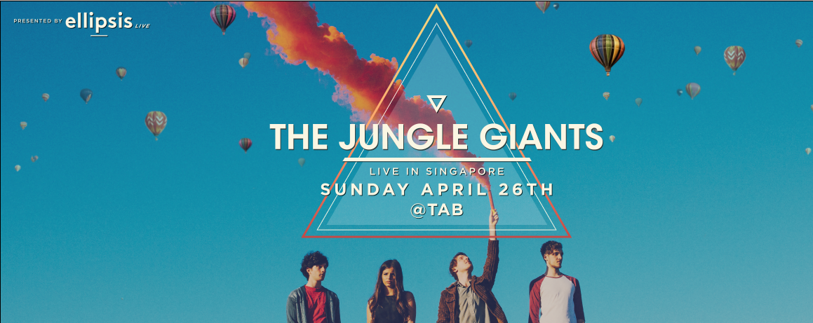 The Jungle Giants in Singapore