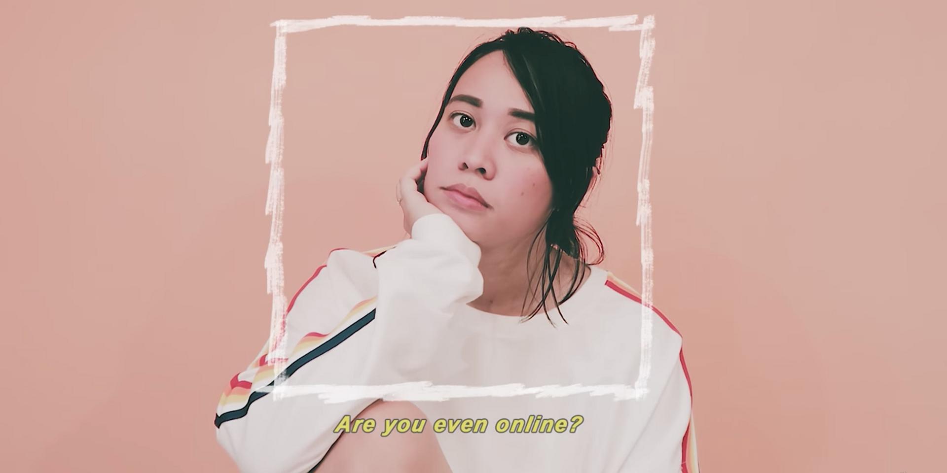 Reese Lansangan sings about the woes of digital love in 'Go Online' – watch