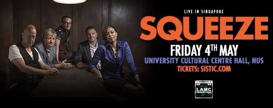 Squeeze · Live in Singapore
