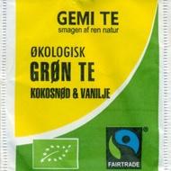 Grøn Te Kokosnød & Vanilje from Gemi Te
