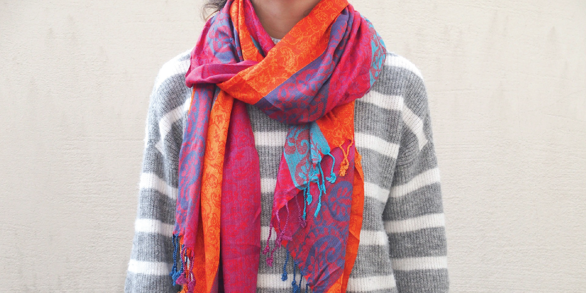 Global Travel Academy Travel Hacks Scarf