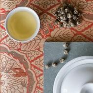 Organic Jasmine Pearls from Divinitea