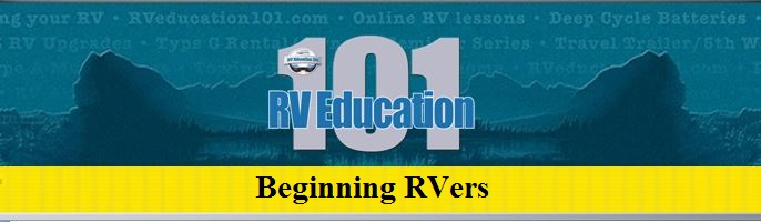Beginning RVers