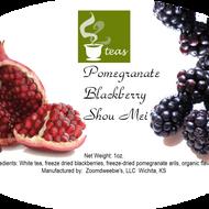 Pomegranate Blackberry Shou Mei from 52teas