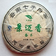 2010 Jingmai Aroma green from Qiaomu