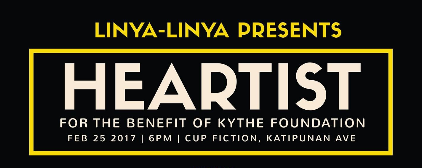 Linya-Linya Night: Heartist for the Benefit of Kythe Foundation