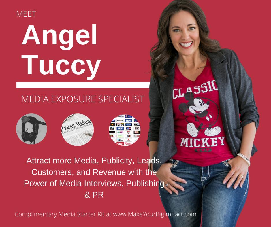 Angel Tuccy, PR