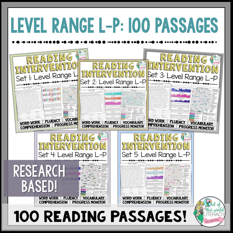 Reading intervention program sets l p jen bengel geenschuldenfo Choice Image
