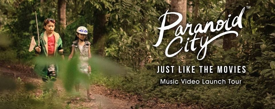"""Paranoid City - """"Just Like The Movies"""" Music Video Launch"""