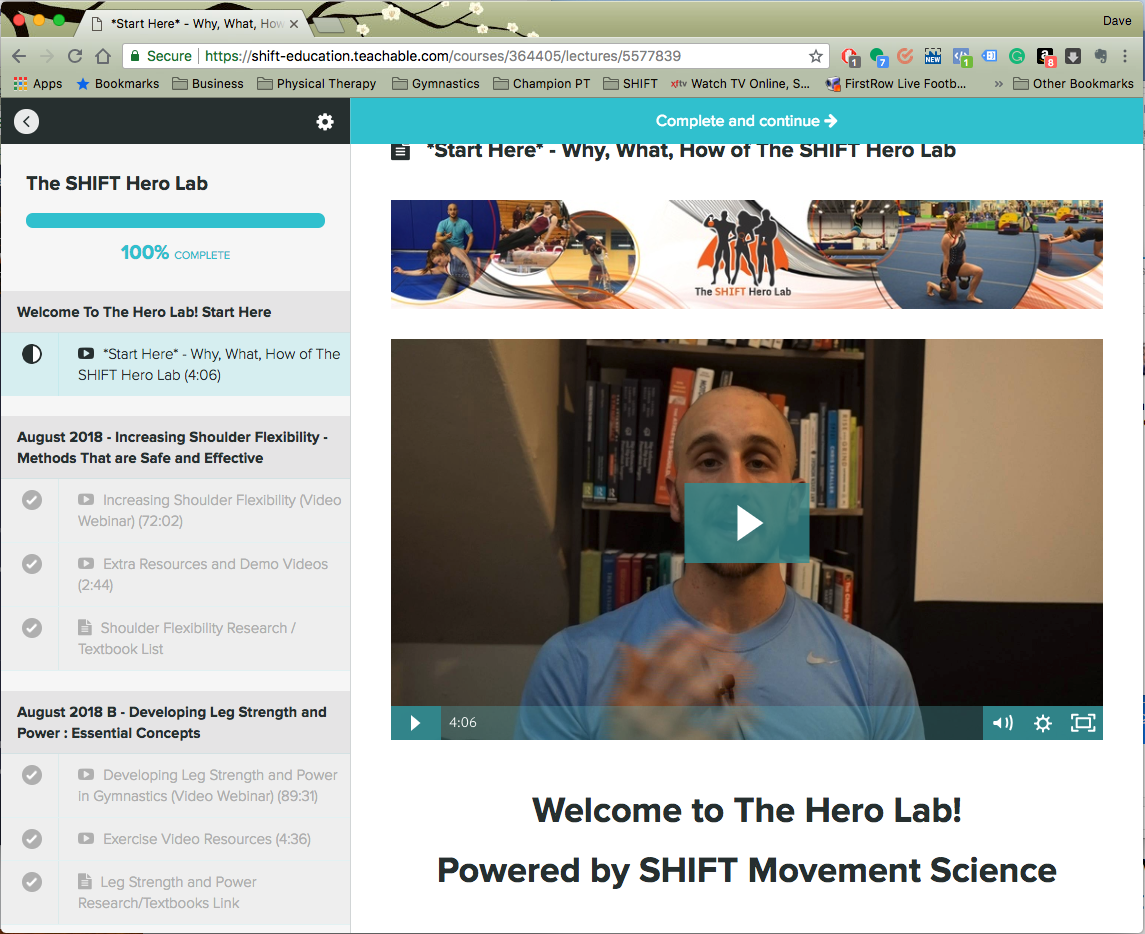 The SHIFT Hero Lab | The SHIFT Online Educational Center