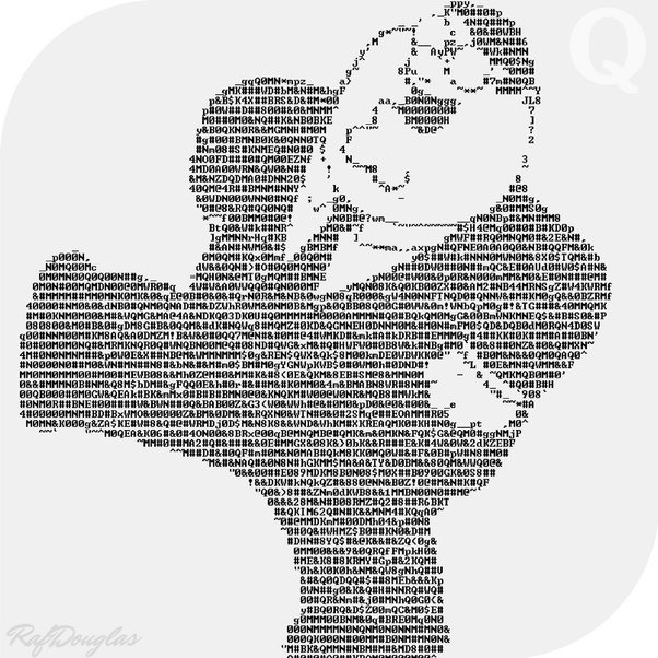 Family Guy Peter Griffin ASCII