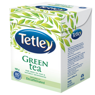 Naturally Decaffeinated Green Tea from Tetley