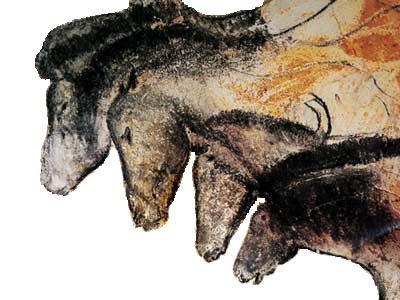 Lascaux Horses