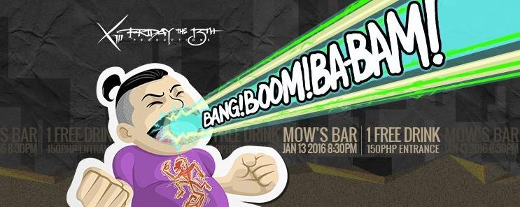 Bang! Boom! Ba-bam!: First 13th of 2016