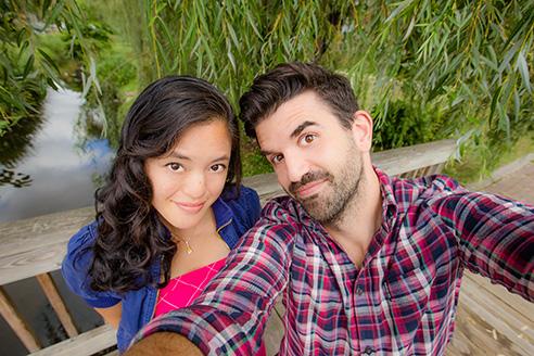 Jasmine Katatikarn & Michael Tanzillo