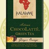 Chocolatte Green Tea Ginger Orange from Kalahari Tea