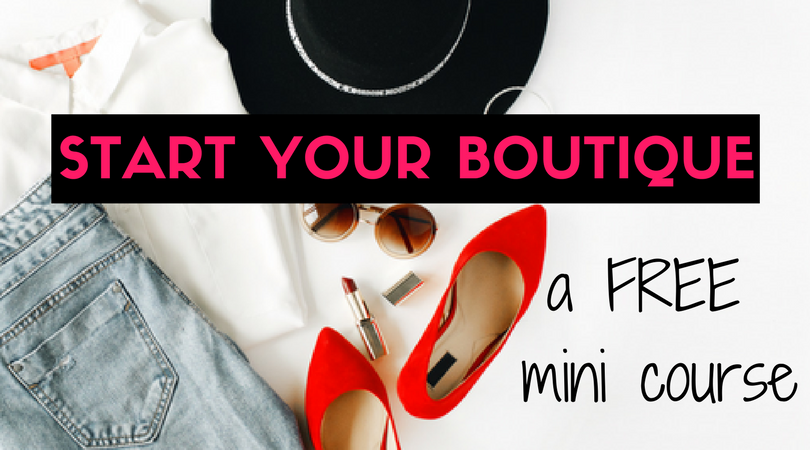 how to start online boutique australia