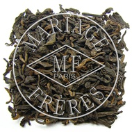 Earl Grey Pu-Erh from Mariage Frères