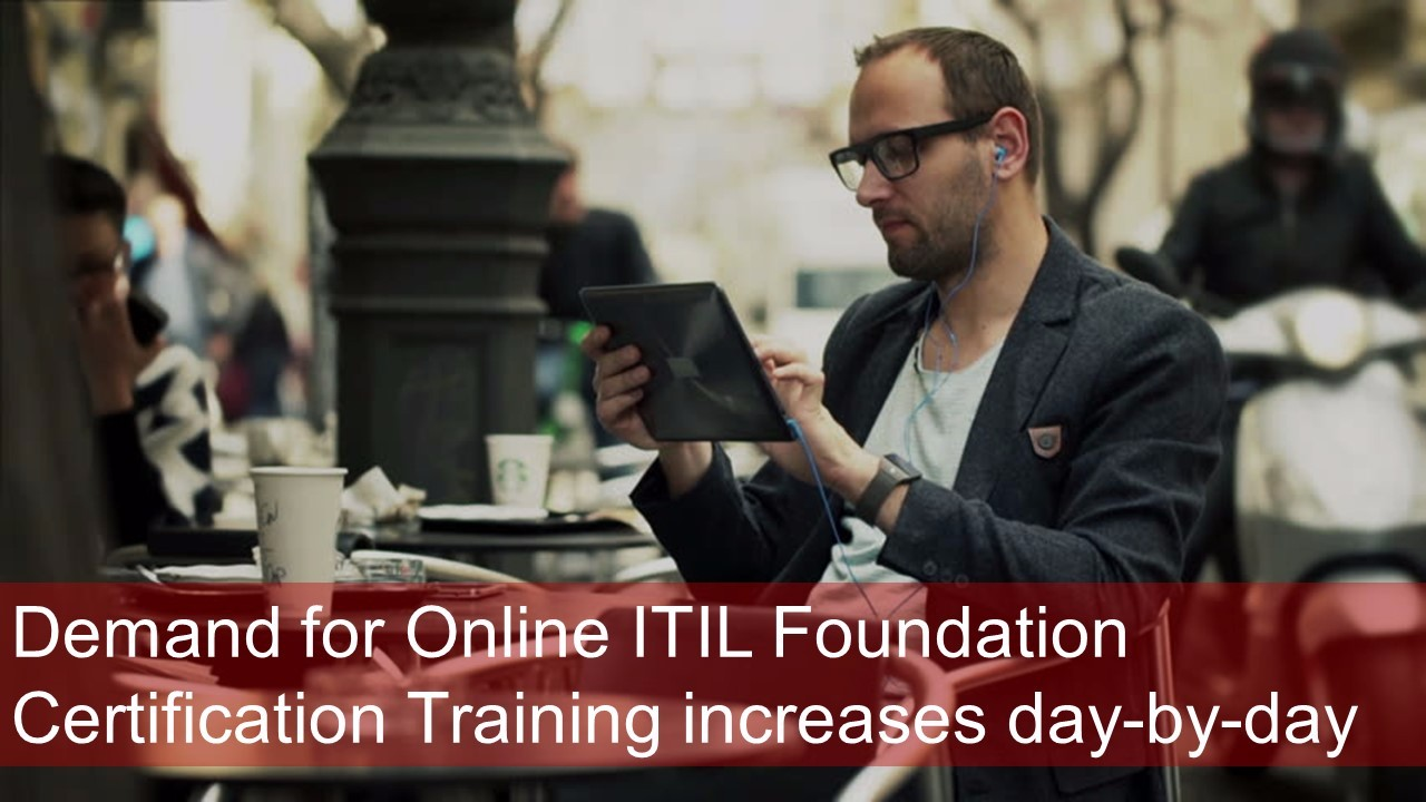 Master Of Project 2018 Online Itil Foundation Certification Training