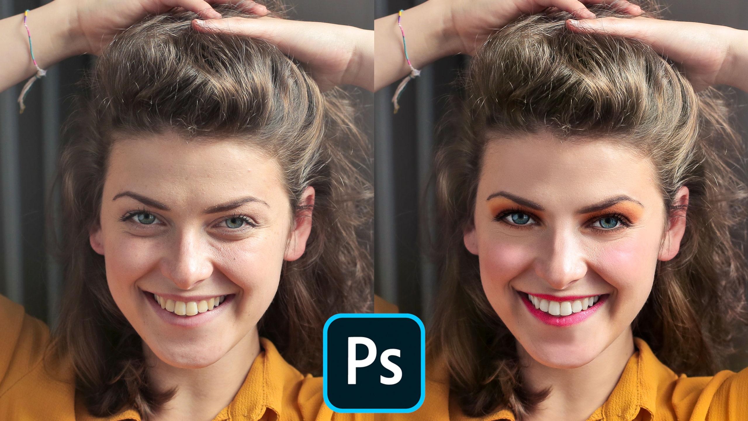 Curso Photoshop CC: Retoque de retratos y maquillaje digital