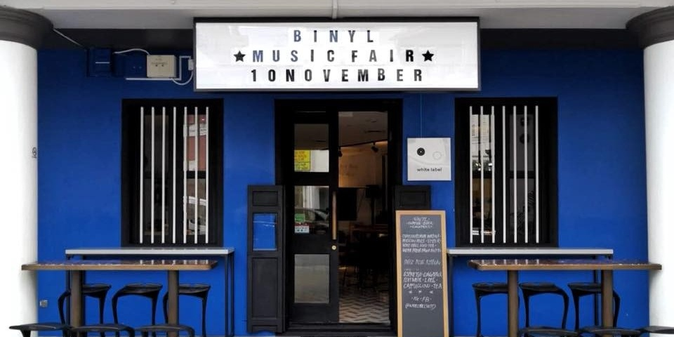 Visit White Label Records this weekend for new vinyl records at the latest edition of BINYL