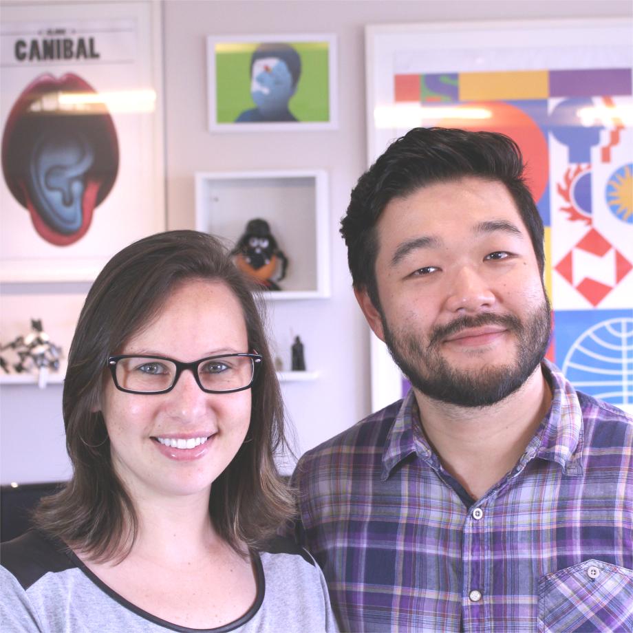 Karina Campanha e Akira Goto