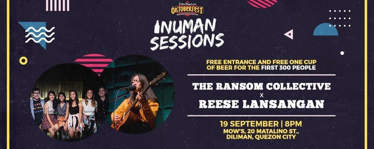 Oktoberfest Inuman Sessions - TRC x Reese Lansangan