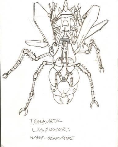 image: TRANSMETAL WASPINATOR: BEAST MODE