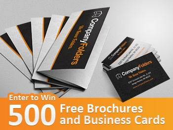 Win 500 free brochures and business cards 310 value giveaway jungle print that specializes in products for large fortune 500 companies is giving away 500 three panel brochures as well as 500 standard business cards to colourmoves