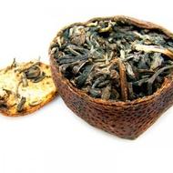 Raw Tangerine Pu-erh 8691-Chrysanthemum Flavor from ESGREEN