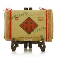 2007  Menghai Dayi Bamboo Shell Tea Brick Ripe Pu'er Tea from menghai dayi(berylleb ebay)