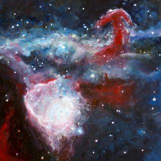 image: Horsehead Nebula 2012-2015 11x12 inches