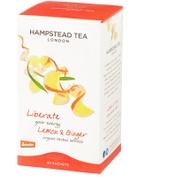 Organic Lemon Ginger from Hampstead Tea