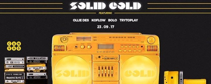 Canvas presents Solid Gold