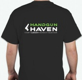 HandGun Haven Logo T-Shirt - LARGE
