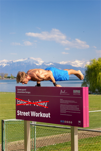 Street Workout partout