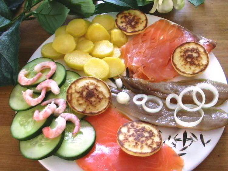 Assiette de poisson Grand Nord