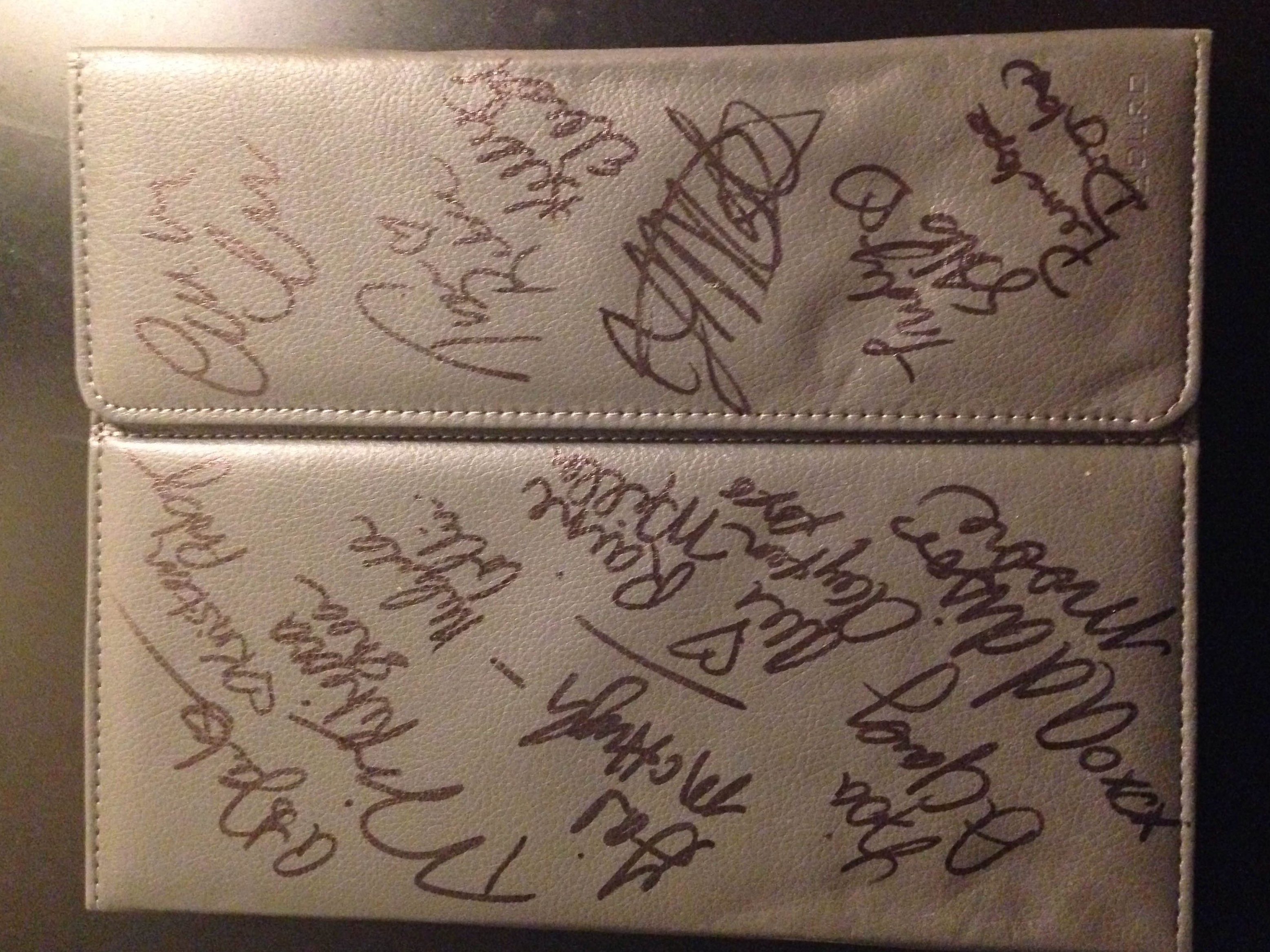 IPad Case Signed By A Ton Of Fabulous Authors Copy Choice Rebecca Shea Book 10 Amazon Gift Card
