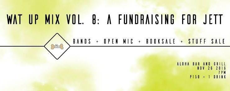 WAT UP Mix Vol. 8 - Fundraising for Jett