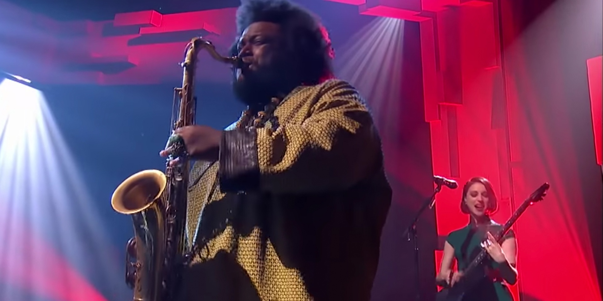 St. Vincent performs 'Masseduction' with Kamasi Washington on Later... with Jools Holland –watch