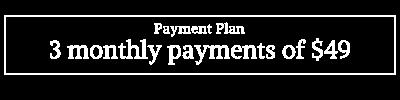 Sadhana: The art & ritual of personal practice Payment plan