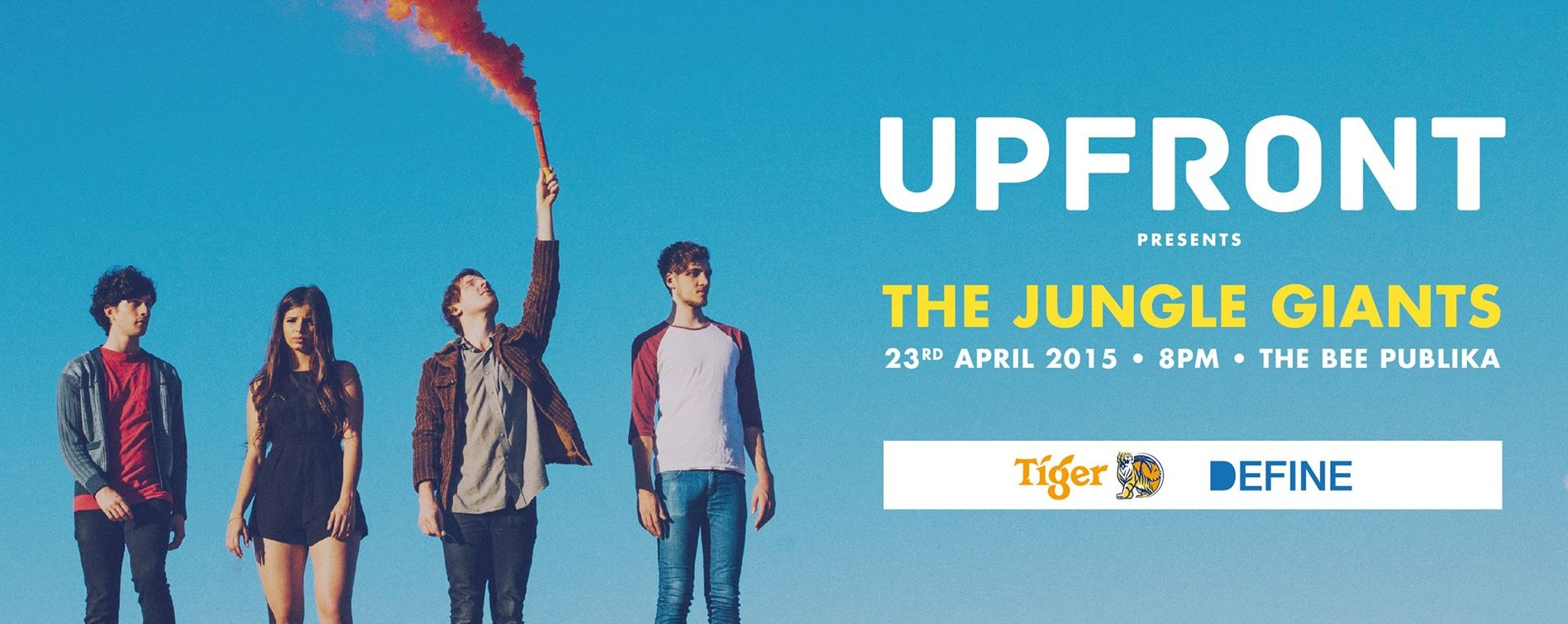 Upfront Presents The Jungle Giants