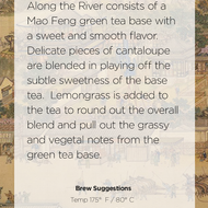 Along The River from Handmade Tea