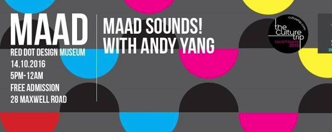 14 Oct MAAD Pyjamas // MAAD Sounds! with Andy Yang