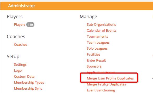 SportyHQ Help: Auto detect duplicate profiles