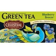 Blueberry Breeze Green Tea from Celestial Seasonings