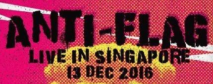 Anti Flag Live in Singapore