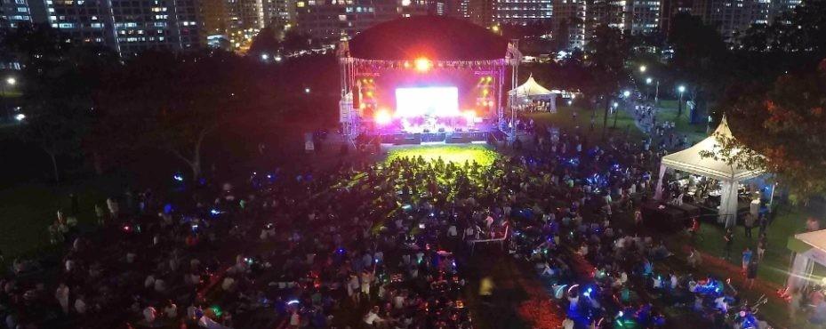NParks Concert Series in the Park, Rockestra®, Saturday Night Retro Fever