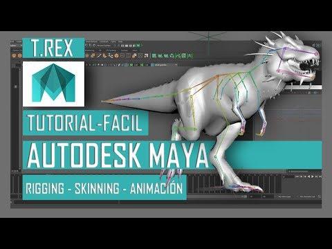 Curso gratis Animación en Maya Español. Cómo animar en Autodesk Maya. Tutoriales de animación.